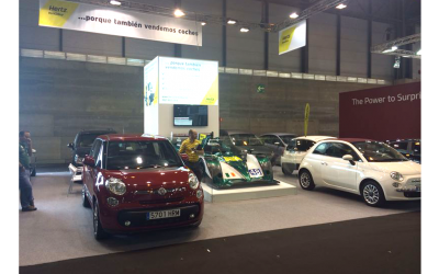 Stand Hertz Car Sales en Salón V.O. Madrid